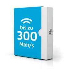 Paket mit bis zu 300 Mbit/s
